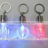 Promotional led light bulb keychain