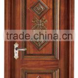 Hand carved solid wood doors with models YHB-1206