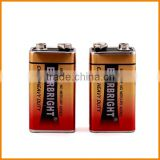 Hot New Retail Products 9 Volt Dry Battery Wholesale                                                                         Quality Choice