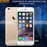 Mobile phone accessary 9H tempered glass protector/ film for iphone 6/6 plus.