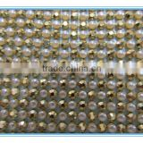 NEW popular aluminum rhinestone mesh with beauty colour and high quality