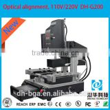 automatic bga rework station DH-G200 bga chips reballing machine for samsung galaxy ace s5830 power ic chip repair