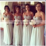 (MY2510) MARRY YOU Chiffon Sweetheart Lace Beading China Bridesmaid Dresses