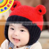 MZ3098 New winter Baby Boys Girls Toddler Crochet Cute Beanie