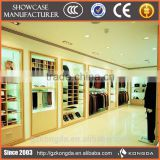 retail clothes store baking paint coated mdf board for interior design