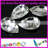 Wholesale highest quality crystal fancy K9 stone imitation of swarov for rhinestones jewelry making supplies