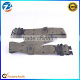 Men's High Quality Army Military Canvas Fabric Plain Webbing Belt Low Price Wholesale