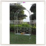 Competitive Price Professional Metal Garden Arch With Bench