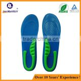 bulk wholesale cut to size gel comfort inner soles shock-absorb insoles from Chinese manufacturer