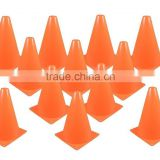 plastic sports training soccer disc cones, Collapsible traffic Reflective Safety Orange Sport Cones
