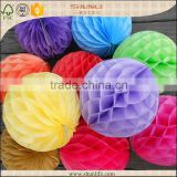 Baby shower decoration Mixed colors tissue paper honeycomb lantern decorations