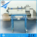 China Weiliang food powder stainless steel centrifugal horizontal airflow screen machine