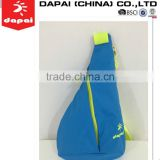 2015 new sporting running light weight bright color sling bag with long strap