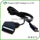 SCART Cable TV AV Cable Lead for use for Play station for PS1 for PS2 for PS3 Game Consoles AV Cable