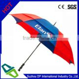 Hot Sale Large Size Double Layer Promotional Golf Umbrella