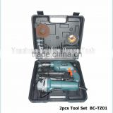 power tools with factory price 2pcs electric tool set