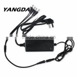 12V 4A 60W DC Power Supply With 8 Way CCTV Power Splitter Cable