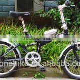 20inch aluminum alloy folding bike/light aluminum alloy folding bike/suspension aluminum alloy folding bike