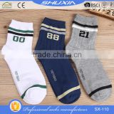 SX 110 low price bulk wholesale cotton ankle sport socks man sock china custom bamboo socks men sock manufacturer factory