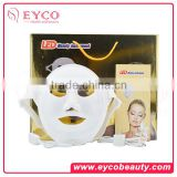 Red/Blue IR Light Therapy Acupoint Stimulating Rejuvenation Facial Neck Skincare LED Mask for Home/...