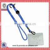 Sun 365 Silk Screen Printing Promotional Lanyards With Stain Band, Metal Ring And Safety Break Away Clip
