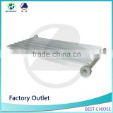 Aluminum fin tube with 2 or 3 or several fins for refrigeration storage and heat exchange equipment