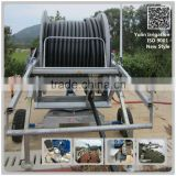 Hose Reel Irrigation System With More Nozzles, Truss and Big End Gun For agricultural sprinklers, farm and garden