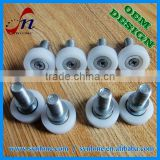 High quality high precision nylon ball bearing drawer rollers with 100% inspection