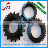 Customized Forged blacking surface carbon steel ring gear