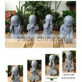 Home decorative resin monk Statues