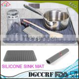 NBRSC Silicone Dishes Drying Mat Draining Mat for Kitchen Counter Dish Dryer Mat For Dish Drying