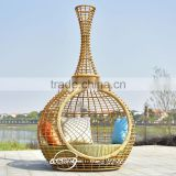 Guangzhou Derong wholesale lounge furniture garden sun bed outdoor life rattan patio sun bed lounger fancy daybed 2016 hot sale