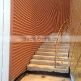 decorative GRC 3D wall panels, exterior 3D wall panels, fiberglass wall cladding decorative panels
