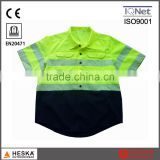 high visibility heat transfer tape EN20471 reflective shirt