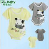 Newborn Summer Baby Body Suit For Baby girls Boys Romper Cotton Animal Babies Rmpers Short Sleeve Baby Boy Jumpsuit Clothing
