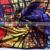 Modal spandex knitted fabric nice printting pattern