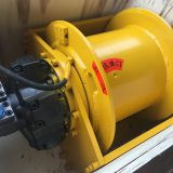 Factory sale hydraulic winch with pull force 10 ton
