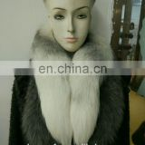 Winter Popular Fashion Fox Fur Boa Fox Tail Scarf