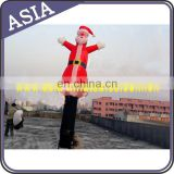 4mH Inflatable Christmas Air Dancer red inflatable for promotion