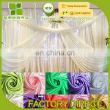 customized ice silk Wedding Backdrop Curtain