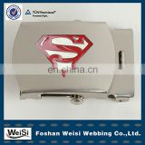 High Quality Soft Enamel Superman Wholesale Custom Military Webbing Belt Buckle