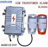 Auto-Dial Alarm APP Control Solar Alarm System for Transformer Security Industry Alarm System Power Cable Detector Wireless