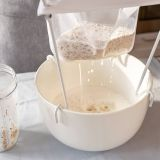 Nut milk bag with drawstring Food grade