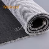 OEM one close one hexagon 10mm thickness flame retardant 3d polyester padded air spacer mesh fabric for car seat cushion