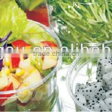 All sizes disposable deli container, clear plastic salad container, PET food container, container with flat or dome lid