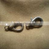 Lobster connector clasps for bag chains