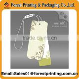 Clothing price tag label& Recycled paper price tag& Print price tag labels for clothes