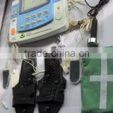 Professional smart therapeutic equipment with ultrasound and laser,heating,e-cupping EA-F29