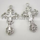Catholic Alloy Rosary Bracelet Crucifix Cross