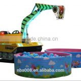 2015 QingHeng New Product Children's Toys Toys Excavator Model With Excavator Bucket